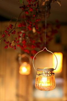 **Ana Rosa by concepcion Fall Candles, Candle Lanterns, Hanging Candles, Hanging Lights, Autumn Cozy, Festa Party, Mason Jar Lamp, Tea Light Holder, Light Up