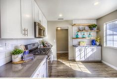 As Seen On Hgtv 39 S Flip Or Flop An Extra Long Countertop Is A Creative Way To Make The Most Of