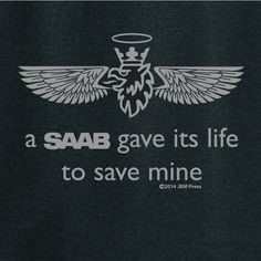 Many folks ask you why you are so devoted to a now-dead car brand. Then you show them the pictures of your beloved Saab, after the crash. You smile, while they gape, and wonder how you survived. Are y