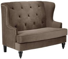 Upholstered Banquette Seating | Lainey Tufted Settee With Back CHECK PRICE