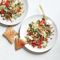Farro Salad with Creamy Feta | MyRecipes.com