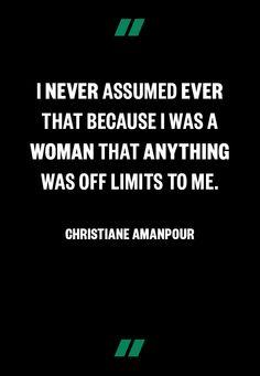 Christiane Amanpour www.makers.com/christiane-amanpour