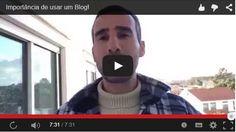 [Novo Vídeo no Youtube] - http://www.checkthisout.me/youtinportanciadoblog  A Importância de usar um Blog!  Sabias que podes ganhar dinheiro com um Blog?  Quem quer divulgar algo não se pode dar ao luxo de não ter um blog, não estar presente na Internet...  Sabe Porquê ==> http://www.checkthisout.me/youtinportanciadoblog