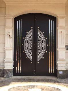 Steel Gate Design, Door Gate Design, Door Design Interior, Main Door Design, Wooden Door Design, Front Door Design, Best Door Designs, Art Deco Door, Classic Doors