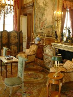 Nissim de Camondo, Paris Love the feel of this room!