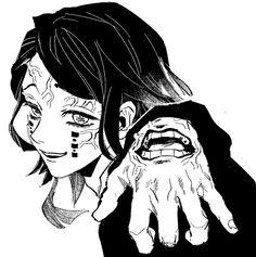 Demon Slayer, Slayer Anime, Manga Art, Anime Art, Arte Do Kawaii, Gothic Anime, Manga Covers, Anime Profile, Anime Sketch