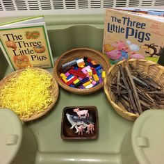 We think our students will enjoy this invitation to retell the story of The Three Little Pigs.