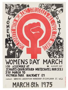 The Radical Feminist Posters of London Art Collective See Red