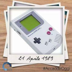 Il #21aprile 1989 la #Nintendo mette in commercio il #GameBoy