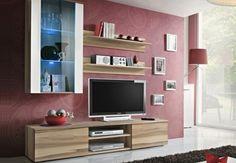 Rack LCD TV Modular Stone- Factory Muebles - fabrica de muebles de melamina, placards, racks lcd, muebles a medida