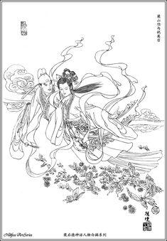 梁山伯与祝英台 - Liang Shanbo and Zhu Yingtai, pair of lovers in folk legend