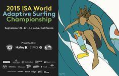 10 cosas que usted necesita saber sobre el 2015 ISA WORLD SURFING CHAMPIONSHIP ADAPTATIVE