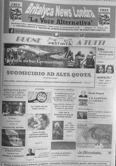 Britalyca News Londra (Edizione copia Cartacea del 29 Marzo 2015)