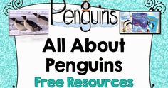 "Everyone loves Penguins. Winter is the perfect time to learn about them. Although when we hear the word, ""penguin"" everyone thinks of Anta..."