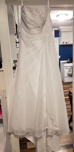 c11eec8dd0b (eBay link) davids bridal wedding dress size 14  fashion  clothing  shoes