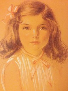 Jacqueline Bouvier ..pastel by John Connah…1935. from the exhibit Newportraits…at the Newport Art Museum…♡❤❤❤♡❤♡❤❤❤♡ http://en.wikipedia.org/wiki/Jacqueline_Kennedy_Onassis