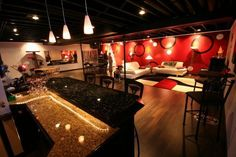 man cave | This man cave looks like something out a 60s Blake Edwards movie, all ...
