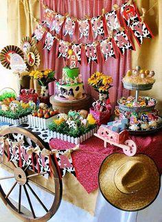 Todo para tu fiesta temática de la Granja – Souvenirs Ma Cristina