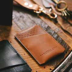 Fancy - Simple Card Holder by Campbell Cole