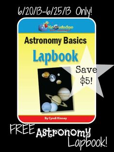 Apologia exploring creation with astronomy lapbook 14 file folders limited time free astronomy lapbook coupon code required save 5 expires 6 fandeluxe Choice Image