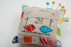 Why Not Sew?: Good Neighbors Pincushion Party and a Giveaway!!!