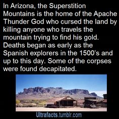 Superstition Mountains / Lost Dutchman Mine