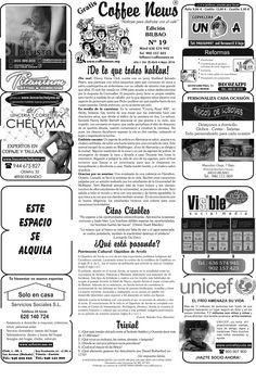 Coffee News Bilbao Nº19