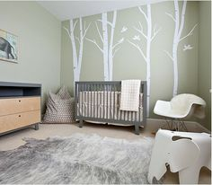 This was the inspiration for Ollie's nursery. I like Oliver's better!