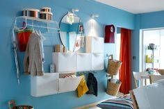 Whipping up more storage space in a small home is no easy feat unless you know how to hack an IKEA Trones shoe cabinet.