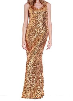KAYAMIYA Women's V Neck Gold Sequin Maxi Long Evening Grown Fish Tail Dress S Gold KAYAMIYA http://www.amazon.com/dp/B012C8F598/ref=cm_sw_r_pi_dp_go-gwb1JM6J77