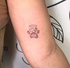 dog tattoo ideas Tattoo Ideas New Tattoo Traditional Small Art 32 Ideas Small Dog Tattoos, Tiny Tattoos For Girls, Mini Tattoos, New Tattoos, Cool Tattoos, Cat Paw Tattoos, Horse Tattoos, Cute Little Tattoos, Tattoo Small