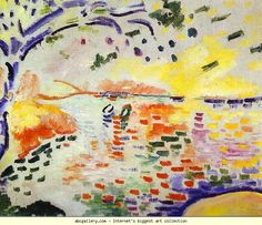 Georges Braque. The Little Bay at La Ciotata / La Petite Baie de La Ciotat. Olga's Gallery.