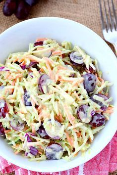 Blue Cheese Cole Slaw Recipe - RecipeGirl.com