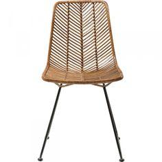 KARE Design Stuhl Ko Lanta Dieser schöne, leichte Stuhl besitzt ein filigranes Gestell aus Metall und eine luftige Bespannung aus natürlichem Rattan. Er bringt ein wenig vom Feeling der beliebten Ferieninsel ins eigene Heim. In weiteren Ausführungen erhältlich. #kare #karedesign #stuhl #chair #rattan #style #design #natur #esszimmer #urlaub #zuhause #streben #modern KARE Design - -Stuhl Ko Lanta - versandkostenfrei jetzt bei KARE.de bestellen