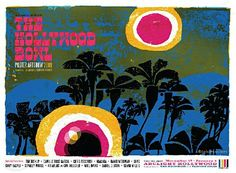 The Hollywood Bowl Poster by David Weidman