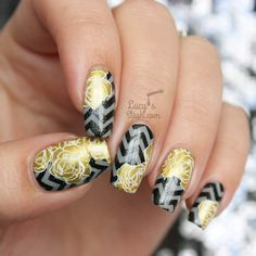 Double Stamp All The Nails! http://www.lucysstash.com/2015/10/double-stamp-all-the-nails.html