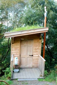 The compost toilet #camping