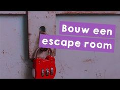 Bouw zelf een escape room met verschillende puzzels. De missie bevat een instructievideo, stappenplannen, 3 thema's en escape room planner.