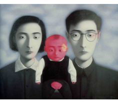 Zhang Xiao Gang: Bloodline, Big Familiy, 2006