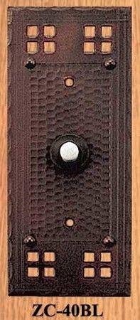 Ginkgo Leaf Doorbell  Mission Door Bells and Door Knockers Accessories | The Ginkgo Leaf | Pinterest | Leaves Doors and Craftsman & Ginkgo Leaf Doorbell  Mission Door Bells and Door Knockers ... pezcame.com