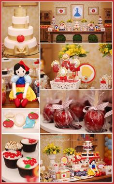 A wonderful Snow White party(Kara's)