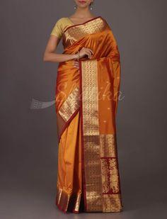 Varsha Traditional At The Root Classic #Bangalore #WeddingSilkSaree
