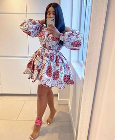 Latest Lovely Short Ankara Gown Styles Collection of the . - Latest Lovely Short Ankara Gown Styles Collection of the most stylish ankara gown styles for ladies Source by nnabuifez - Short African Dresses, Ankara Short Gown Styles, African Inspired Fashion, Latest African Fashion Dresses, African Print Dresses, African Print Fashion, Ankara Gowns, Ankara Fashion, Short Styles