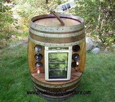 Oak Wine Barrel Cooler