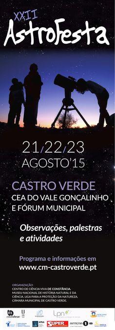 Astrofesta 2015: Programa e Informações