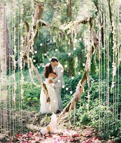 Like a heaven. Photography by santa barbara wedding photographer: Caroline Tran. Tricia Fountaine Design