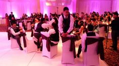 LMAO this is the BEST one I've seen yet! Hilarious!! The Groomsmen Surprise New Bride with an Epic Dance Set