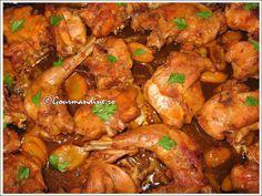 Friptura de iepure la cuptor, cu legume si garnitura de orez