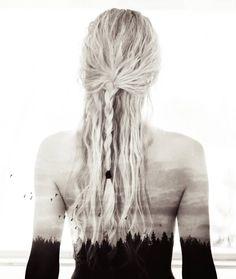 Jonna Jinton, Western Girl, Nordic Style, Dreadlocks, Hair Styles, Photography, Beauty, Instagram, Future