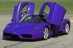 Purple Ferrari Enzo, OK Ladies your ride is HERE!! :)